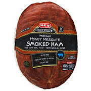 H-E-B Honey Mesquite Smoked Ham, sold by the