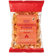 H-E-B Hot and Spicy Picantes Flavor Chicharrones Pork Rinds