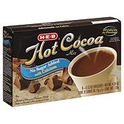 H-E-B Hot Cocoa Mix No Sugar Added with Calcium