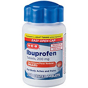 H-E-B Ibuprofen 200 mg Coated Tablets