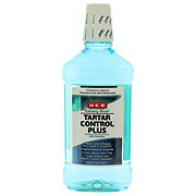 H-E-B Iceberg Blue Tartar Control Plus Mouth Rinse