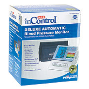 H-E-B InControl Deluxe Automatic Upper Arm Blood Pressure Monitor