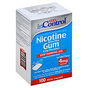 H-E-B InControl Ice Mint Nicotine Gum 4 mg