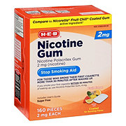 H-E-B InControl Nicotine Fruit Gum 2 mg