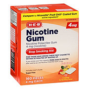 H-E-B InControl Nicotine Fruit Gum 4 mg