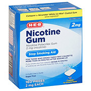 H-E-B InControl Nicotine Gum Ice Mint 2 mg