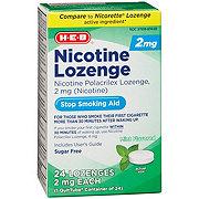 H-E-B InControl Nicotine Lozenge Mint 2 mg