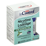 H-E-B InControl Nicotine Mini Lozenge Mint 2MG