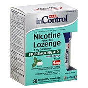 H-E-B InControl Nicotine Mini Lozenge Mint 4MG