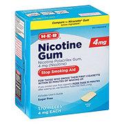 H-E-B InControl Nicotine Original Gum Stop Smoking Aid 4 Mg