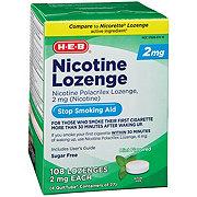 H-E-B InControl Nicotine Sugar Free Mint Lozenge 2 mg