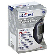 H-E-B InControl Plus TRUEtrack Blood Glucose Monitoring Starter Kit