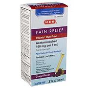 H-E-B Infant Pain Relief Grape