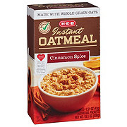 H-E-B Instant Cinnamon and Spice Oat Meal