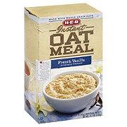 H-E-B Instant French Vanilla Oatmeal