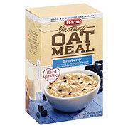 H-E-B Instant Heart Healthy Blueberry Oatmeal