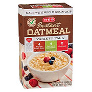 H-E-B Instant Oatmeal Variety Pack