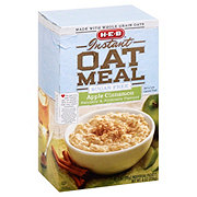 H-E-B Instant Sugar Free Apple Cinnamon Oatmeal