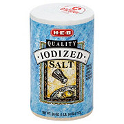 Heb Iodized Salt Shop Herbs Spices At Heb