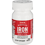 H-E-B Iron 28 mg Tablets