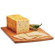H-E-B Jalapeno Muenster Cheese, Sliced