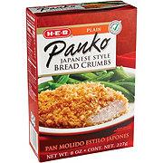 H-E-B Japanese Style Panko Plain Bread Crumbs