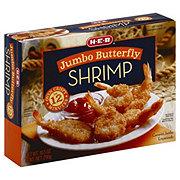 H-E-B Jumbo Butterfly Shrimp