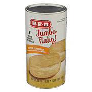 H-E-B Jumbo Flaky Butter Flavor Biscuits