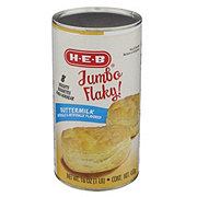 H-E-B Jumbo Flaky Buttermilk Biscuits