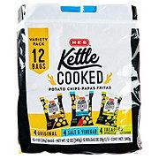H-E-B Kettle Chips Variety Pack
