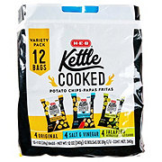 H-E-B Kettle Cooked Chips Variety Pack