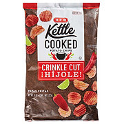 H-E-B Kettle Cooked Crinkle Cut Hijole! Flavored Potato Chips