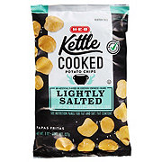 H-E-B Kettle Cooked Lightly Salted Potato Chips