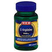 H-E-B L-Arginine 500 mg Capsules