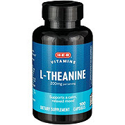 H-E-B L-Theanine 100mg