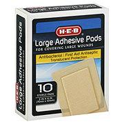 H-E-B Large Adhesive Pads