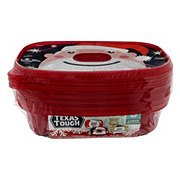 H-E-B Large Dish Colored Rectangle Container