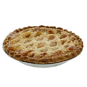 H-E-B Lattice Peach Pie