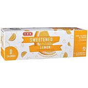 H-E-B Lemon Sweetened Sparkling Water