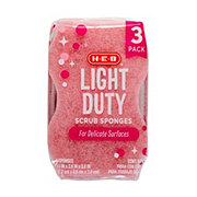 H-E-B Light Duty Scrub Sponges