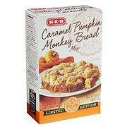 H-E-B Limited Edition Caramel Pumpkin Monkey Bread Mix