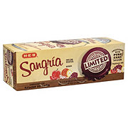 H-E-B Limited Edition Sangria Pure Cane Sugar Soda, 12 PK