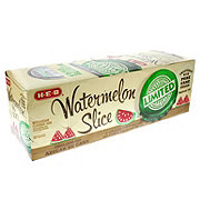H-E-B Limited Edition Watermelon Slice Pure Cane Sugar Soda, 12 PK