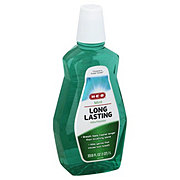 H-E-B Long Lasting Mint Mouthwash