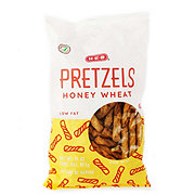 H-E-B Low Fat Honey Wheat Pretzels