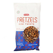 H-E-B Low Fat Mini Twists Pretzels