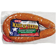 H-E-B Made in Texas Savory Jalapeno Smoked Sausage