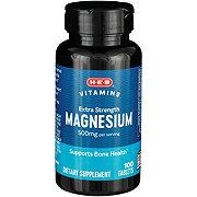 H-E-B Magnesium 500MG
