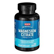 H-E-B Magnesium Citrate 100 mg Capsules