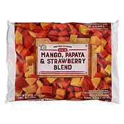 H-E-B Mango, Papaya, and Strawberries (No Sugar Added)